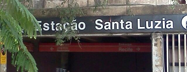 Estação Santa Luzia (CBTU/Metrorec) is one of TIMBETALAB.