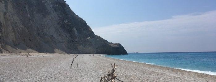 Egremni Beach is one of Greece.