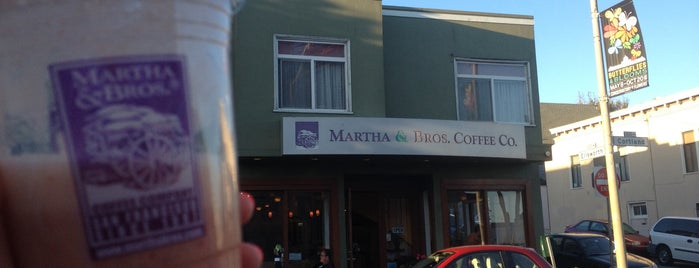 Martha & Bros. Coffee is one of try first (came recommended).