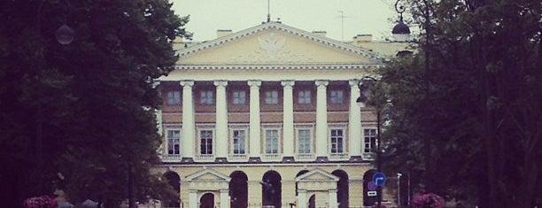 Администрация Губернатора Санкт-Петербурга is one of Locais curtidos por Egor.