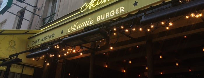 Mamie Burger Faubourg Saint-Denis is one of Lugares guardados de Arnaud.