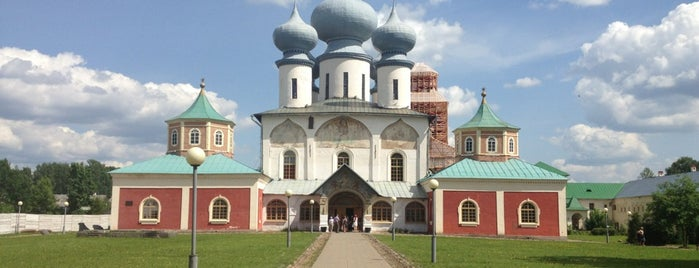 Тихвинский Богородичный Успенский мужской монастырь is one of Православный Петербург/Orthodox Church in St. Pete.