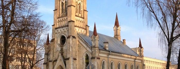 Лютеранская кирха святого Иоанна is one of Белоруссия.