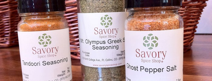 Savory Spice Shop is one of Fort Collins 3rd Friday Foodie Walk.