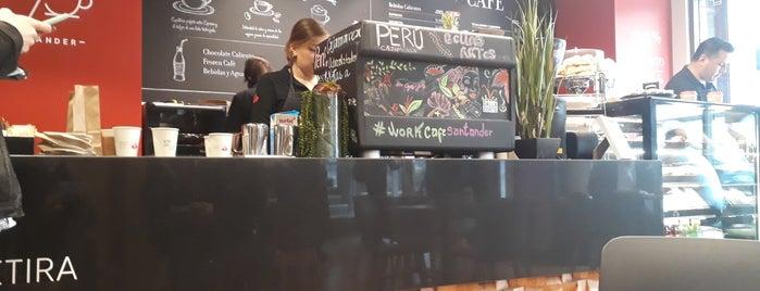 Work Cafe Santander is one of Ruta de cafés, sandwich, almuerzos.
