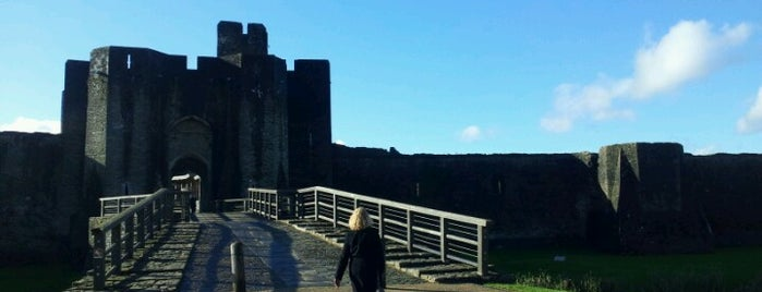 Caerphilly Castle is one of Went Before 5.0.