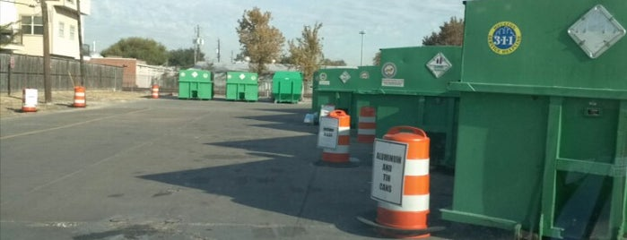 Recycling Center is one of Houston.
