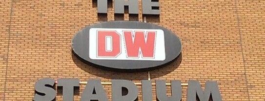 DW Stadium is one of Barclays Premier League 2013-2014.