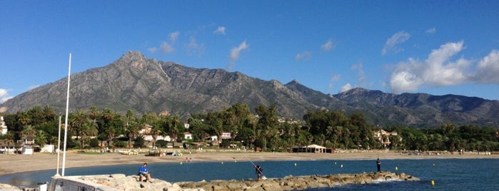 Playa de Puente Romano is one of Marbella.