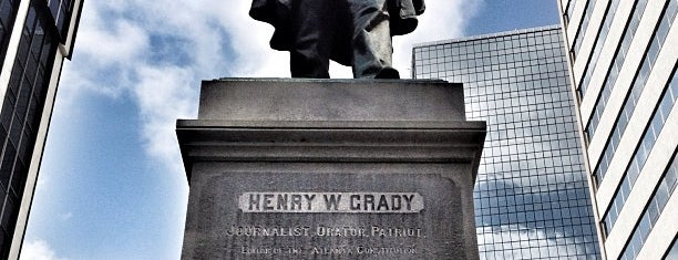 Henry W Grady Statue is one of ATL.