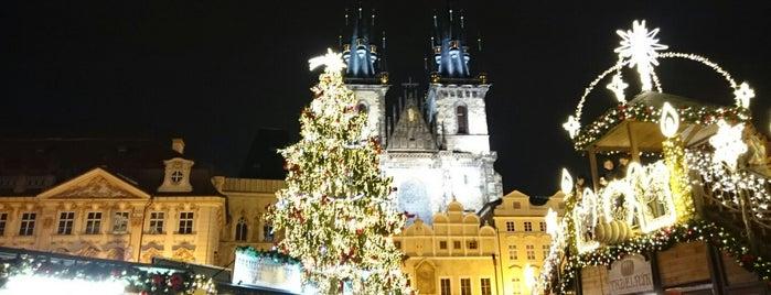Vánoční strom is one of Prague for kids.