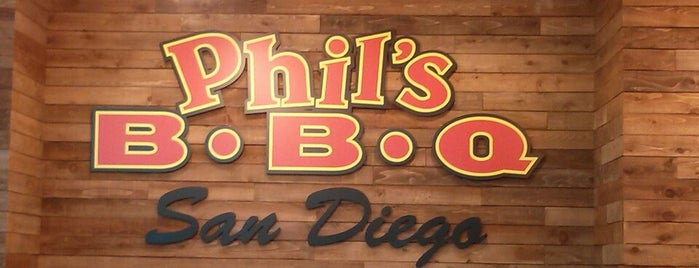 Phil's BBQ is one of Tim 님이 좋아한 장소.