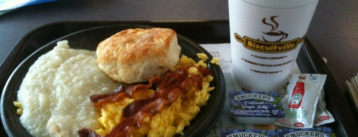Biscuitville is one of Raleigh / Durham.