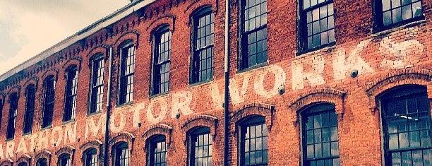 Marathon Motor Car Building is one of Zachary'ın Beğendiği Mekanlar.