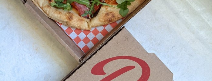 Delicious Pizza is one of West LA.