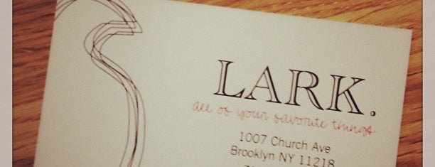 LARK is one of NYC coffee shops to try.