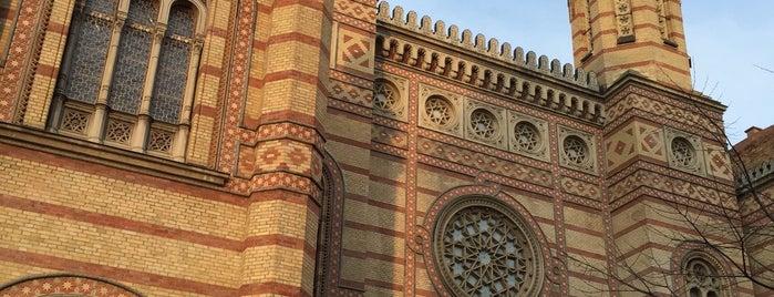 Grande synagogue de Budapest is one of Budapest.