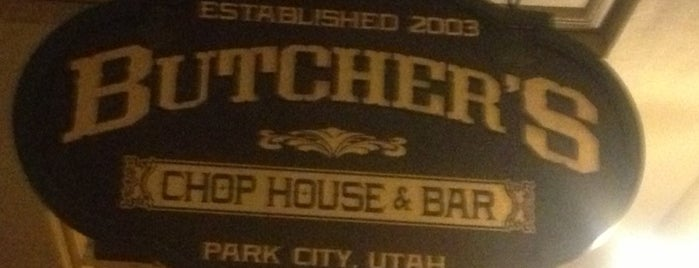 Butcher's Chop House & Bar is one of Park City.