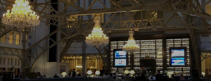 Benjamin Bar & Lounge is one of DC.