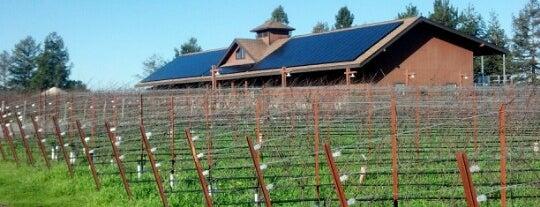 Benovia Winery is one of Taste West Sonoma.