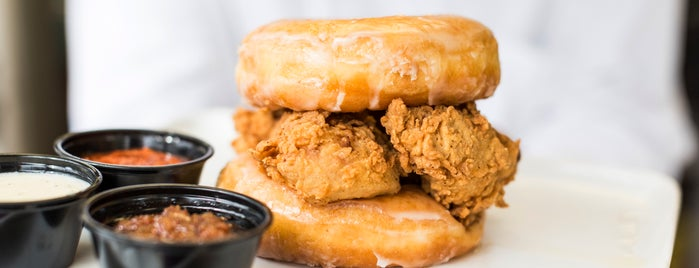 Sam's Fried Chicken & Donuts is one of Houston, TX.