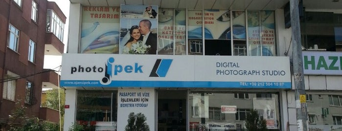 photo ipek ( Foto İpek) is one of Tempat yang Disukai Enes.