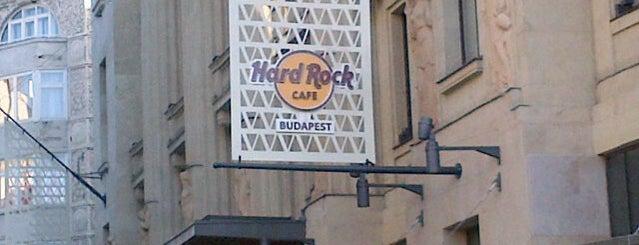 Hard Rock Cafe Budapest is one of Budapeste (Hungria).