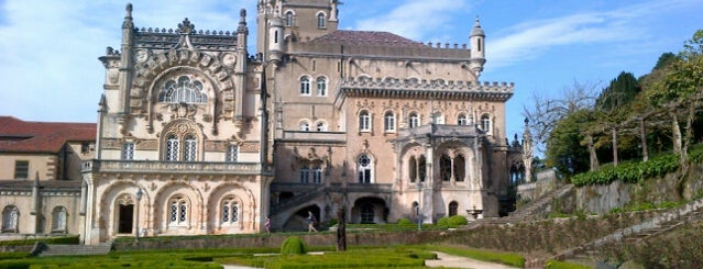 Palace Hotel do Bussaco is one of Locais curtidos por Rania.
