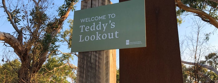 Teddy's Lookout is one of Melbourne.