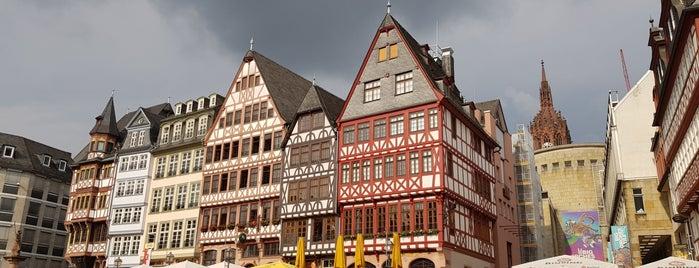 Römerberg is one of Frankfurt 2016.