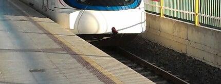 Cumaovası Tren / İzban İstasyonu is one of Tempat yang Disukai Dr.Gökhan.