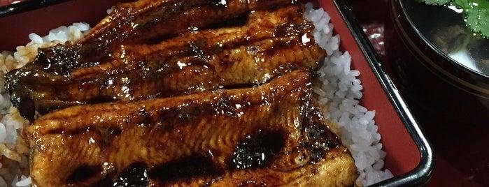 割烹旅館 芳野 is one of うなぎは関西風でしょ。.