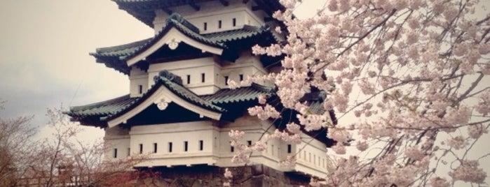 Hirosaki Castle is one of Aomori/青森.