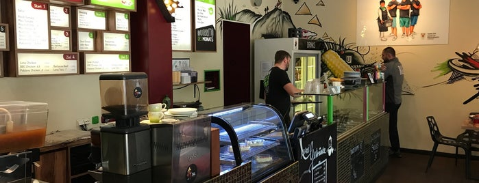 Berlin Burrito Company is one of Lieux qui ont plu à Patrick.