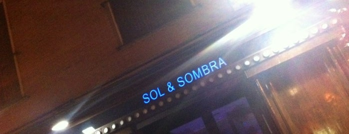 Sol & Sombra is one of Must-visit Nightlife Spots in Madrid.