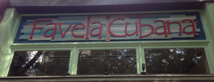 Favela Cubana is one of New York.