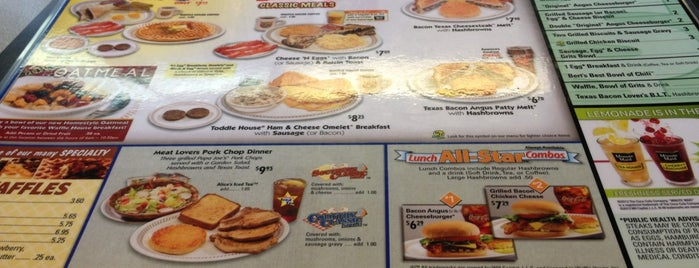 Waffle House is one of Lieux qui ont plu à Richard.