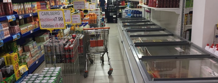 Messios Supermarket is one of สถานที่ที่ Bego ถูกใจ.