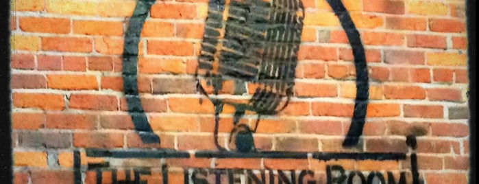 The Listening Room Cafe is one of Nashville Visit.