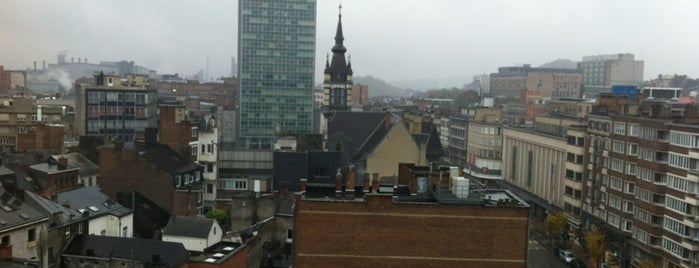Leonardo Hotel Charleroi City is one of Hotels I checked in worldwide.