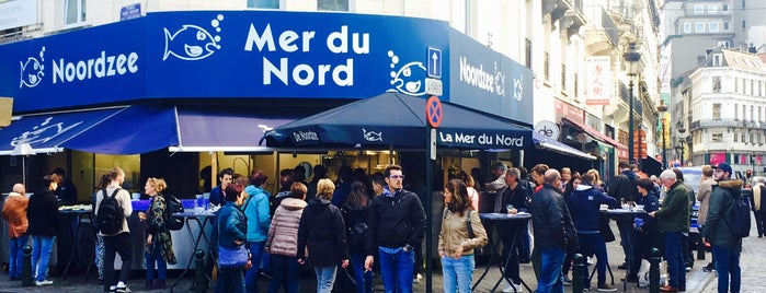 Noordzee - Mer du Nord is one of Posti che sono piaciuti a Matei.