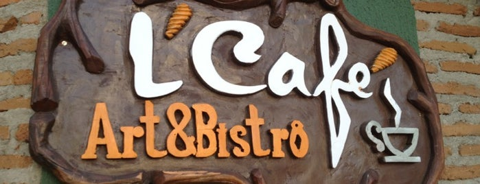 L'Café Art&Bistrô is one of Lugares favoritos de Sara.