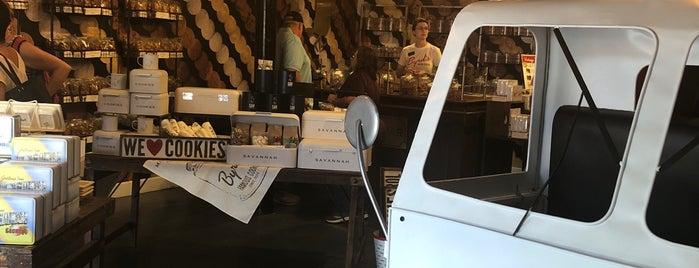 The Cookie Shop @ Byrd Cookie Company is one of Restaurants in Savannah.