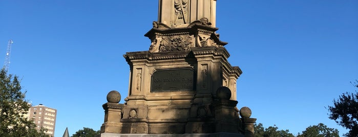 Confederate War Memorial is one of Locais salvos de Andrew.