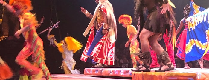 Festival of The Lion King is one of Lugares favoritos de Sarah.