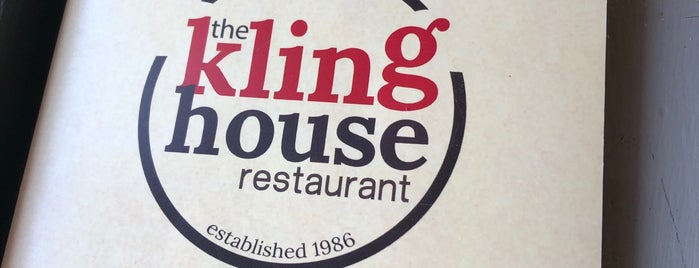 Kling House Restaurant is one of Lugares guardados de Lizzie.