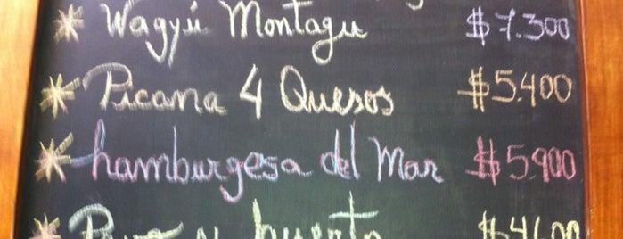 Montagu is one of Comida.
