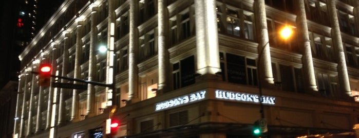Hudson's Bay is one of Vancouver.
