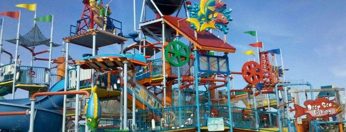 Breakwater Beach Waterpark is one of Kid Stuff.