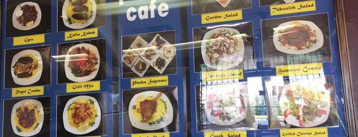 Pasha Middle East Foods is one of สถานที่ที่บันทึกไว้ของ Emre.